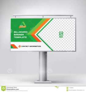 Billboard Design, Template Banner For Outdoor Advertising pertaining to Outdoor Banner Template