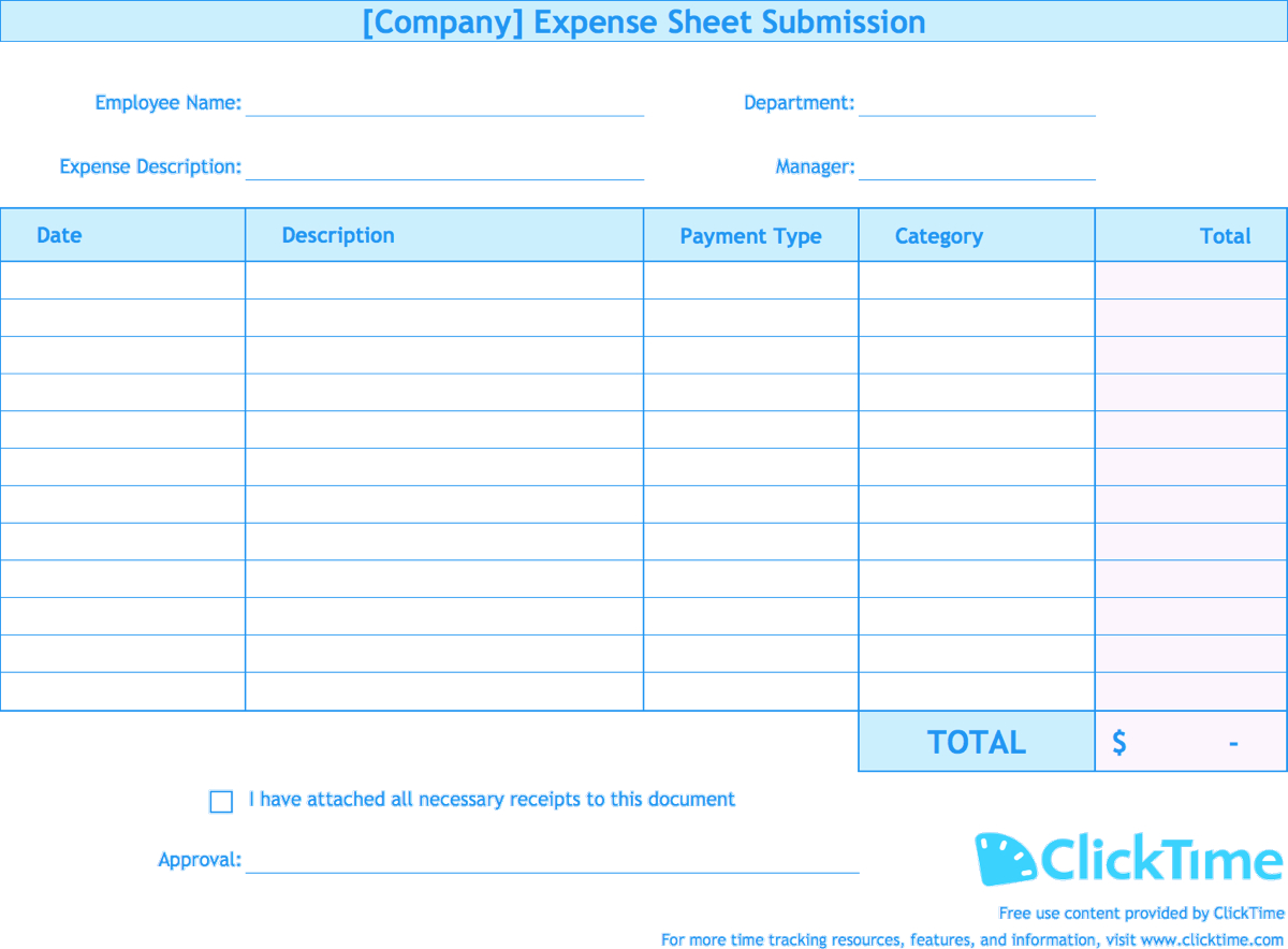 Expenses Spreadsheet Expense Report Template Track Easily In With Monthly Expense Report Template Excel