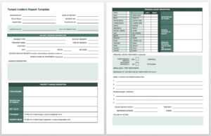 Free Incident Report Templates & Forms | Smartsheet pertaining to Generic Incident Report Template