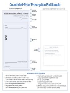Prescription Pad Template - Fill Online, Printable, Fillable with Blank Prescription Pad Template
